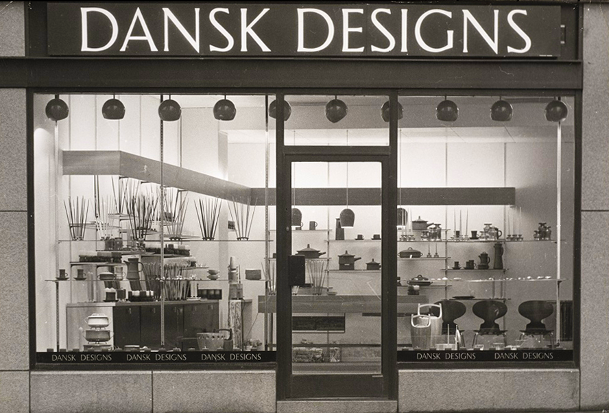 DANSK DESIGNS shop ca. 1960